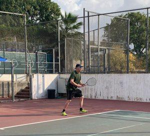 טניס צילום עט תקשורת